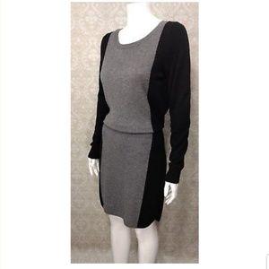 Ann Taylor LOFT Color Block Sweater Dress